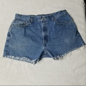 Levi's Jean Shorts Size 36
